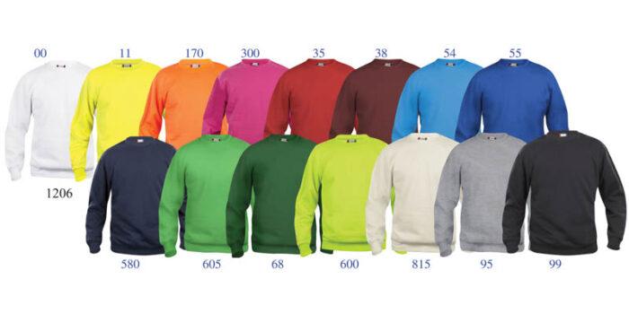 sweatshirtfarger