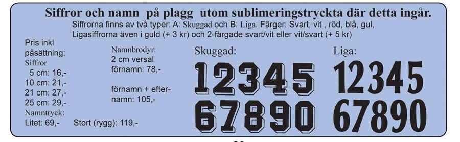 Numrering